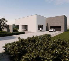 Simple Wo House That is More than Simple : Extravagant Modern Minimalis Style Wo House Gray And White Color