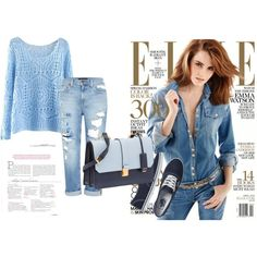 Untitled #27 by medznun-lejla on Polyvore featuring Genetic Denim, Vans and Miu Miu