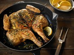 cook chicken so that its skin is crisp and its interior juicy Grilling ...