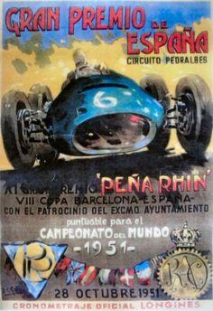 #15 Spain - Pedralbes -- 1951