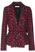 Oscar de la Renta|Checked tweed jacket|NET-A-PORTER.COM