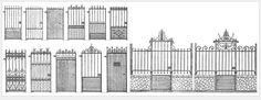 Portes de jardins 34