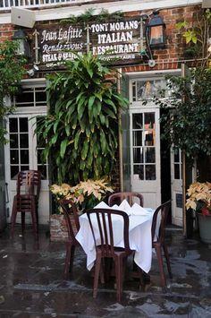 Tony Moran's Italian Restaurant ~ Bourbon Street ~ New Orleans French Quarter