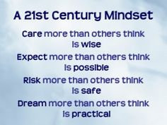 You did not obtain a negative mindset overnight and neither will you building a positive on in the same manner. The good news is that the more you work on your mindset to change it for the better, the quicker you will create a new more productive mindset. Remember, what you think about and focus on expands. So to enhance your new mindset below are a few action steps you can take daily.
