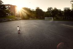 Photographer Daniel Griffel - Play together, football