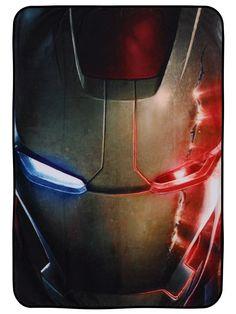 Marvel Iron Man Fleecedecke (115x152cm) | Offiziell lizenziert: Amazon.de: Küche & Haushalt