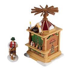 """Department 56: COLLECTING - """"Christmas Market, Pyramid Booth"""" - New Introductions"""