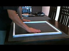 How to build a wooden window screen - DIY Now - YouTube.        I never would have thought of the weather stripping .