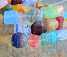 Stone Rustic Hurricane Mix Czech Glass Beads 20 by simplypie