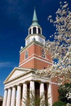 Wait Chapel, Reynolda Campus, Wake Forest University, North Carolina