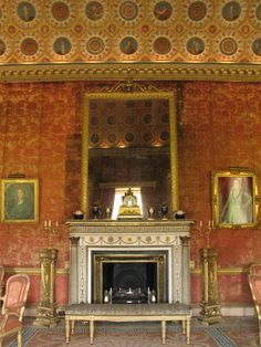 Syon House - The Red Drawing Room from http://LondonTown.com