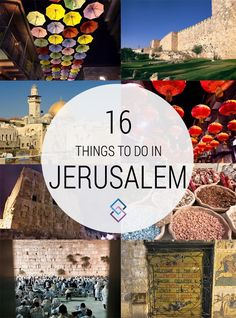 things to do in jerusalem pinterest