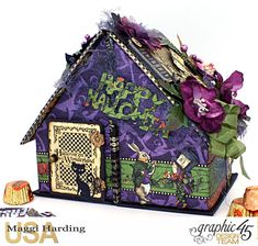 This house has a secret and I made it especially for my chocoholic friends! Trust me, this is just what you need because this cute...
