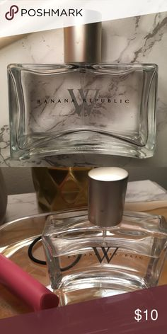 Discontinued Banana Republic Fragrance Beautiful, fresh, and elegant scent. There is a little over half left in the bottle. Get it while you can; this scent has been discontinued in stores and online. It is lovely! Banana Republic Other