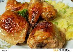 No Salt Recipes, Chicken Wings, Baked Potato, Ham, Pork, Menu, Potatoes, Baking, Health