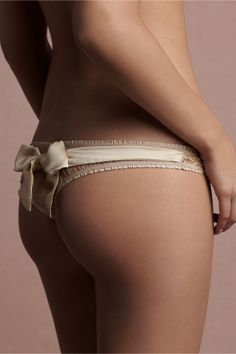 pretty panties from BHLDN #wedding