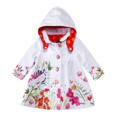 little girls raincoats white Toddler Fashion, Kids Fashion, Rain Wear, Girls Accessories, Girls Wear, Baby Wearing, Beautiful Outfits, Beautiful Clothes, Designer Wear