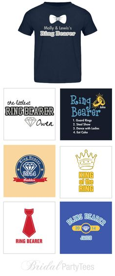 Custom Ring Bearer Shirts Ring Bearer Shirt, Ring Security, Groom Ring, See And Say, Wedding Planning, Wedding Ideas, Cute Rings, Eat Cake, Getting Married