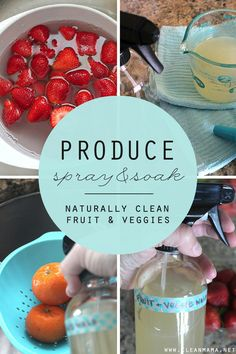 With the temperature starting to creep up, the produce selections are getting better and better. You may shop exclusively at your local grocery store, use a CSA for produce or have your own garden. No matter where your produce comes from, it is always wise to use a produce wash in order to remove excess... (read more...)
