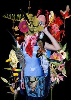 Fashion, collage, editorial, eclectic magazine, art danil golovkin, ashkan honavar
