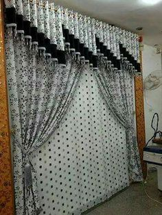 Interesting valance