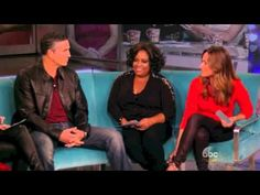 Jim Caviezel on The View 10 18 13