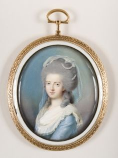 Unknown artist: Portrait of a Lady, late 18th century