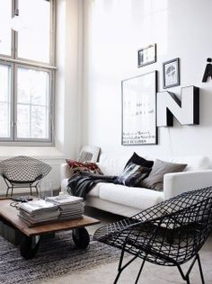 Moden / Industrial living room