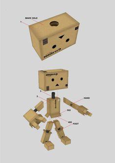 Danbo Robot Instructions | Diposkan oleh Rudi Exa di 00.57
