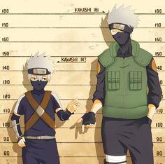 i just realized how kakashi got shadier lol Naruto Shippuden Sasuke, Naruto Kakashi, Anime Naruto, Gaara, Manga Anime, Hinata, Funny Naruto Memes, Super Anime, Levi X Eren