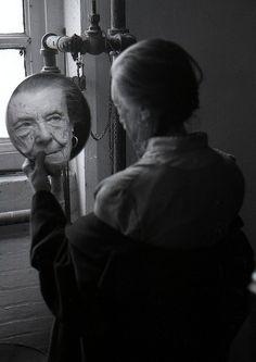Louise Bourgeois # portrait #   by Adar Yosef ,1992©