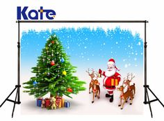 Find More Background Information about Kate Background Photography Christmas Tree blue sky Santa Claus Backdrop Cute Elk Frozen Snow for Children Fond De Studio,High Quality tree figure,China tree comforters Suppliers, Cheap snow yarn from Art photography Background on Aliexpress.com