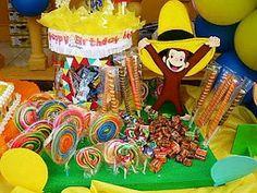 MuyAmeno.com: Fiestas Infantiles, Decoración Jorge el Curioso, C...