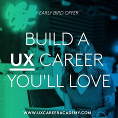 Just given a preview of @uxcareer new online course and it's amazing  . In just 12 self-paced online lessons youll learn how to become a UX Designer from scratch & learn how to make experiences employers and your customers will love. Start to finish. Most importantly youll know how to immediately apply what youve learned.  http://ift.tt/2lPQAuC or click the link in bio. . @uxcareer . #ui #dribbble #ux #design #webdesign #graphic #uidesign #userinterface #minimal #graphicdesignui #inspiration…