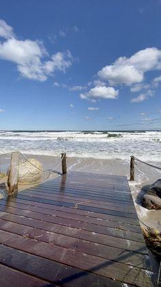 Beautiful Beach Pictures, Beautiful Photos Of Nature, Beautiful Places To Travel, Nature Pictures, Beautiful Beaches, Cool Pictures, Wooden Walkways, Ocean Wallpaper, Sky Aesthetic