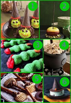 Halloween Treat Roundup: Witches!! – Edible Crafts