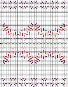 Discover thousands of images about Patrones Punto de Cruz: punto yugoslavo Hand Embroidery Stitches, Embroidery Patterns, Cross Stitches, Loom Patterns, Free Swedish Weaving Patterns, Broderie Bargello, Swedish Embroidery, Chicken Scratch Embroidery, Monks Cloth