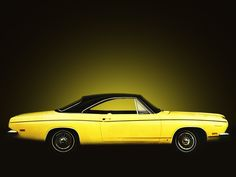 Plymouth Barracuda Hardtop Coupe (BH23) '1969