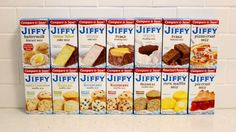 Jiffy baking mixes are iconic and adorable, but you've probably only used one or two—and one of those was probably the corn muffin mix. But there are many other mixes to explore and, because I am a dedicated investigative food journalist, I decided to test all of the little blue boxes I could find.
