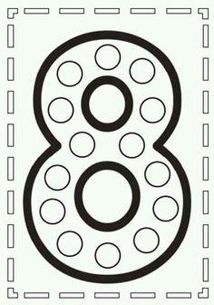 Printable Number Spinners 1 to 20 - Number Sense Numbers Preschool, Learning Numbers, Kindergarten Worksheets, Learning Activities, Preschool Activities, Writing Numbers, Math Numbers, Pre K Worksheets, Math Sheets