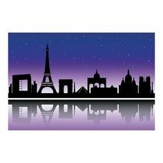 City+of+Paris+Silhouette+Backdrop+Banner+-+OrientalTrading.com
