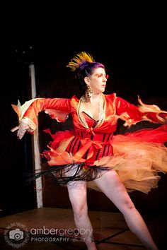 Laika Fox really looks ON FIRE! in her flame costume. Great photo by Amber Gregory and wonderful concept by Laika. Red Hots Burlesque Every Weds and Fri El Rio 730pm www.RedHotsBurlesque.com redhotsburlesque@gmail 415-672-4735 for reservations
