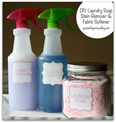 DIY Laundry Soap, St