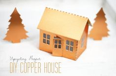 copper house {upcycling tuesday} by http://titatoni.blogspot.de/