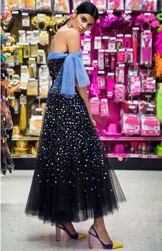#CarolinaHerrera featured in #HarpersBazaar #OctoberIssue