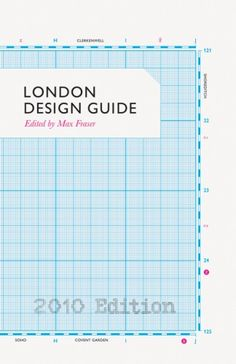 Book Cover// London Design Guide - Designers: Paul Finn, Alistair Hall, David Pearson