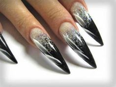 stiletto nail designs | Nails Designs: Gel, Acrylic and Natural Nails
