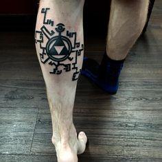 """""""Brother's new Triforce tattoo #tattoo #tattoos #zeldatattoo #zeldatattoos #triforcetattoo #triforce #zelda #legendofzelda"""""""