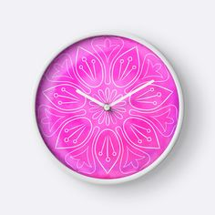 Watercolor pink lotus by Alla Rinchino