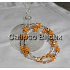 Braccialetto a spirale Orange